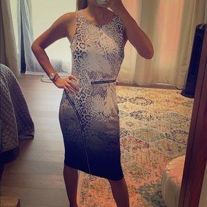 Jennifer Lopez dress stretchy sz 8 maternity OK